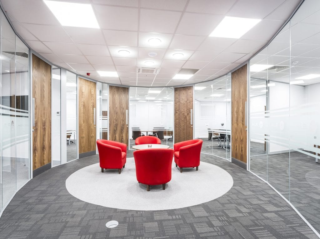 design specialists planned office interiors ltd refreshes ale